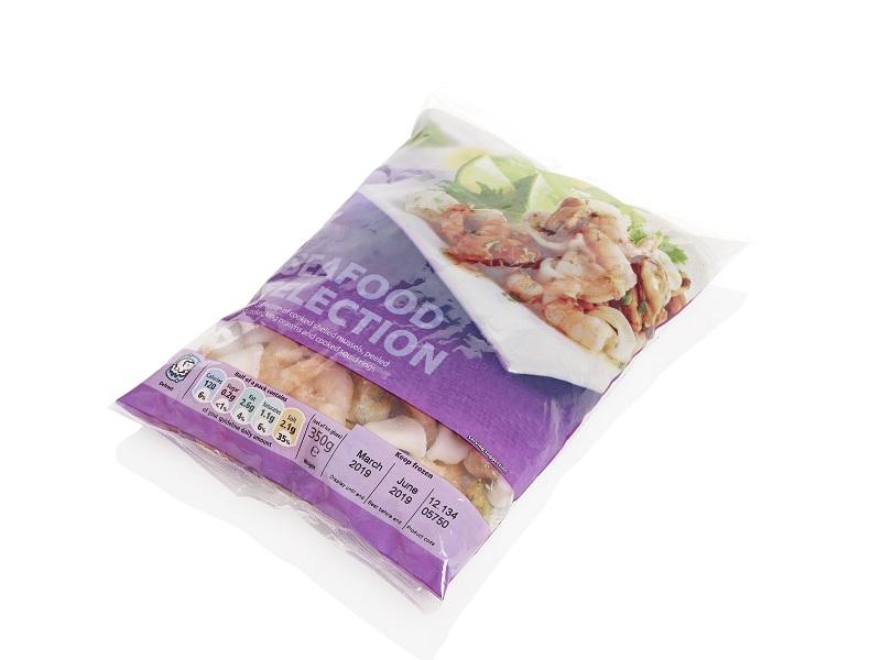 impresion sobre empaques de alimentos congelados y paletas