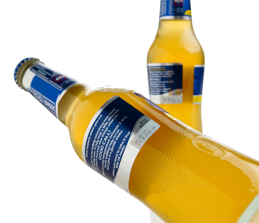 Impresión de botellas de vidrio para la industria tequilera